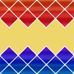 Colorful Harlequin Background. Vector Illustration.