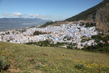 Town Chefchaouen in the Rif Mountains of Morocco