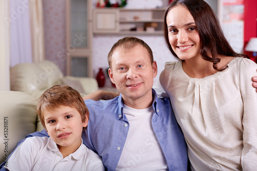 Family of three