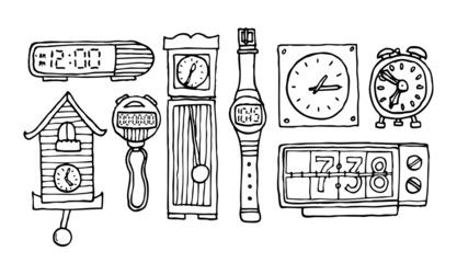 Time set / Clocks and watches