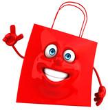 Fun shopping bag