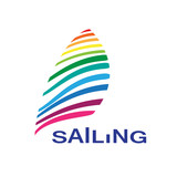 Vector logo sailing
