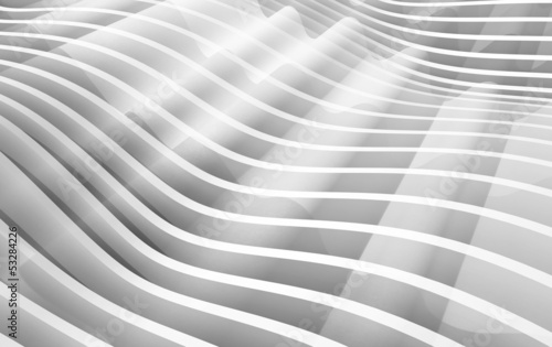 Abstract blue monochrome waved background