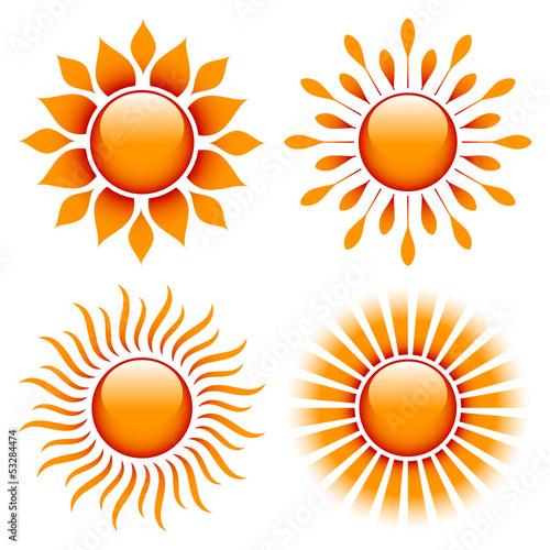 4 Suns Orange/Red