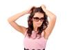 девушка в солнечный очках, лето
