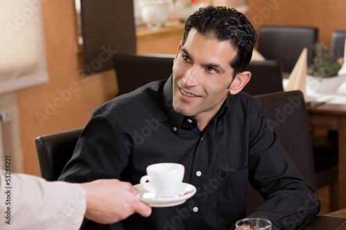 Danke für den Kaffee