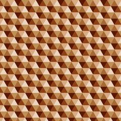 Muster Geschenkpapier Kaffeefarbene Rauten