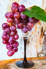 still life - oil paint