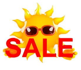 Sunshine holds a sale