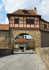 Rothenburg ob der Tauber, Rodertor tower gates