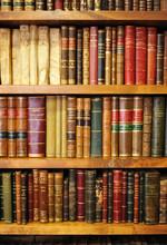 Vieux livres de bibliothèque