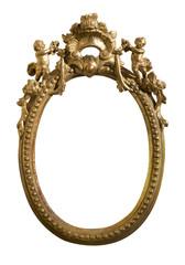 Antico specchio ovale