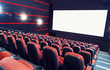 canvas print picture - Cinema auditorium