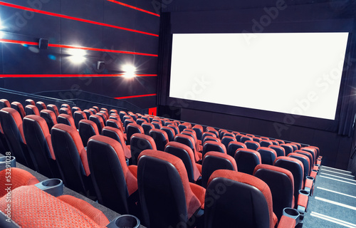 canvas print picture Cinema auditorium