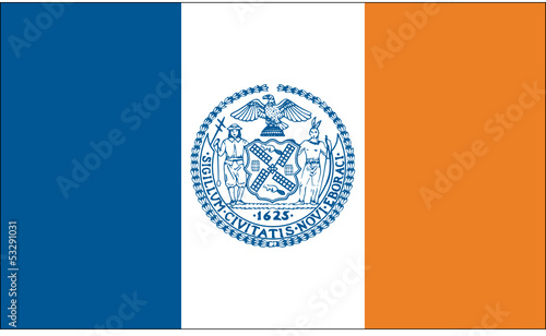 Flag and Seal of New York City