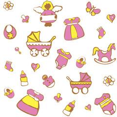 Пряничное детство для девочки