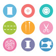 Sew icon set