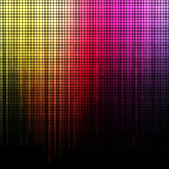 Spectrum vector mosaic background