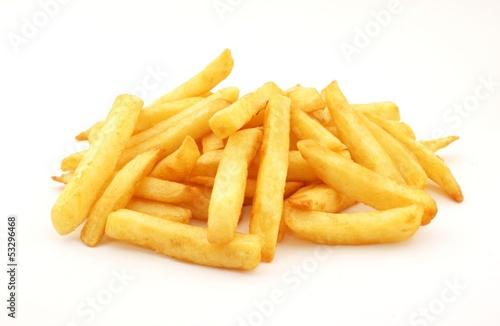 Fotobehang Restaurant Pommes Frites
