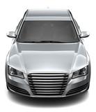 Fototapety Silver sedan