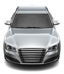 Silver sedan