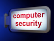 Security concept: Computer Security on billboard background