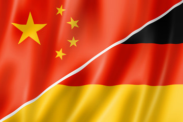 China and Germany flag