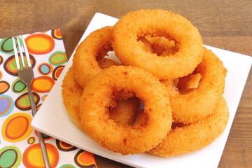 Aros de cebolla, onion rings