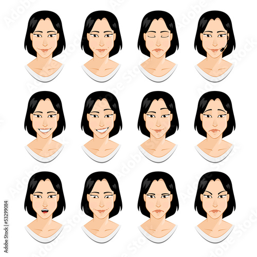 Avatar: girl emotions