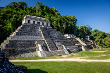trois temples de palenque