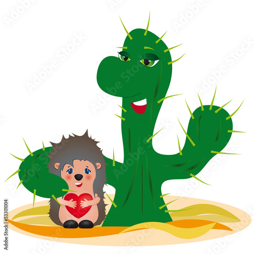 Adoption concept - original funny vector illustration