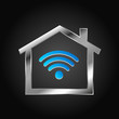House Logo, wifi