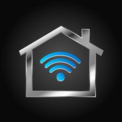House Logo, wifi