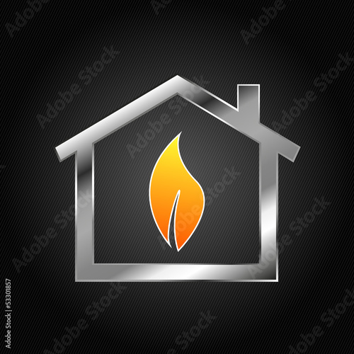 House Logo, gas