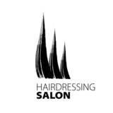 modern creative vector logo for hairdressers