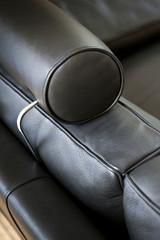 Canapé, cuir, meuble, style, mobilier, maison, confort