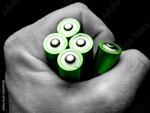 Leinwandbild Motiv Green  power
