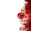 2014 beauty Christmas and New Year background.