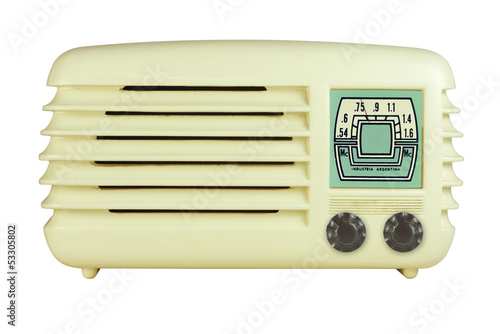 Antique Bakelite Radio 07