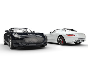 Black And White New Supercars