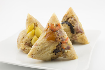 Zongzi or chinese sticky dumpling