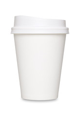 テイクアウト用コーヒーカップ/切り抜き画像