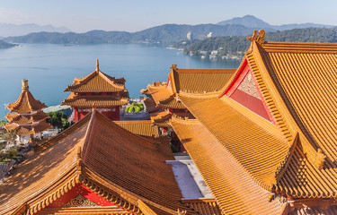 Wenwu temple at Sun Moon Lake, Taiwan