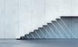 Leinwandbild Motiv minimalism style stairs