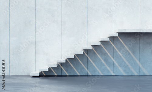 minimalism style stairs - 53315815