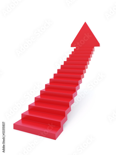 stairs going  upward