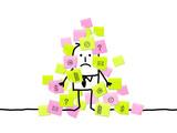 Fototapety sticky notes