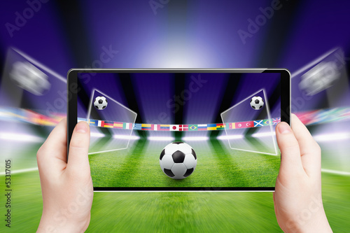 Soccer online, sports game