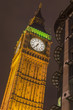Big Ben tower at night, London, UK