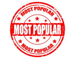 Most popular-stamp